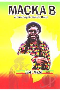 Macka B: Live Tour DVD Cover Art