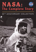 NASA - The Complete Story DVD Cover Art