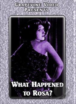 What Happened to Rosa? DVD Cover Art