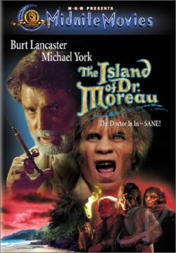 Island of Dr. Moreau DVD Cover Art