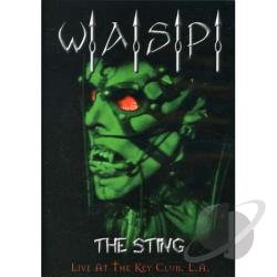 W.A.S.P. - The Sting: Live at the Key Club L.A. DVD Cover Art