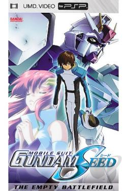 Mobile Suit Gundam Seed - Movie 1: The Empty Battlefield UMD Cover Art