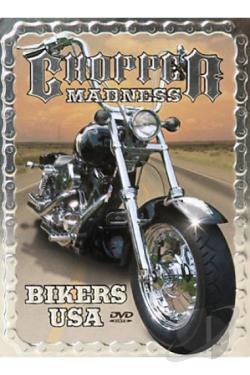 Biker Madness - Choppers USA DVD Cover Art