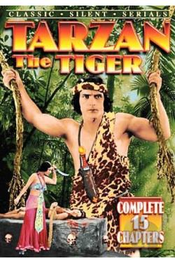 Tarzan the Tiger DVD Cover Art