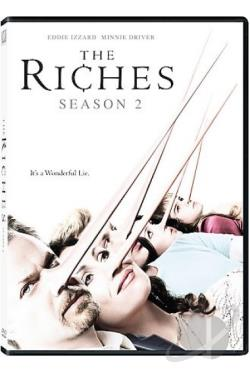 Riches - The Complete Second Season DVD Cover Art