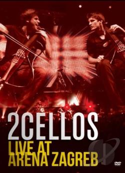 2CELLOS: Live at Arena Zagreb DVD Cover Art