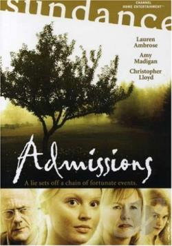 Admissions DVD Cover Art
