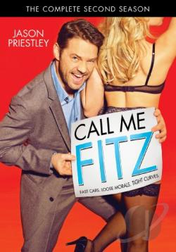 Call Me Fitz - The Complete Second Season DVD Cover Art