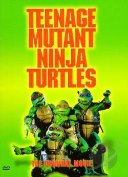 Teenage Mutant Ninja Turtles - The Movie DVD Cover Art
