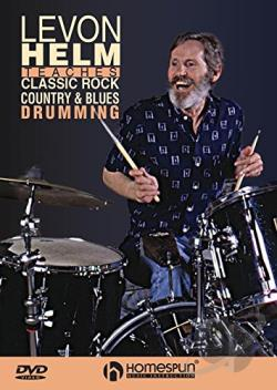 Classic Rock, Country and Blues Drumming DVD Cover Art