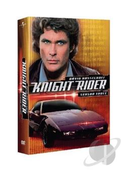 Knight Rider - The Complete Third Season DVD Cover Art