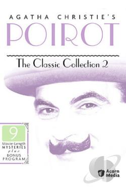 Poirot - The Classic Collection 2 DVD Cover Art