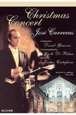 Jose Carreras - Christmas Concert DVD Cover Art