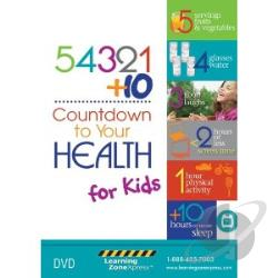 54321 Plus 10 Countdown To Your Healt DVD Cover Art