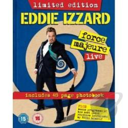 Eddie Izzard: Force Majeure DVD Cover Art