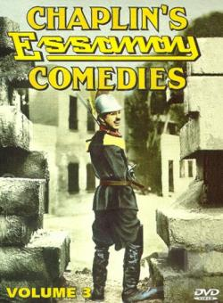 Chaplin's Essanay Comedies - Volume Three DVD Cover Art