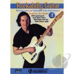 Rockabilly Guitar DVD Cover Art