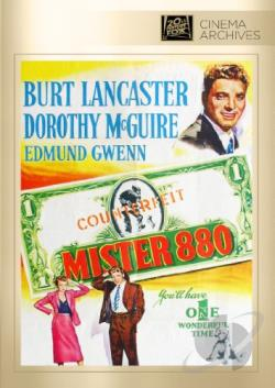Mister 880 DVD Cover Art