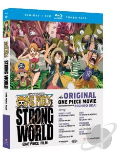 One Piece: Strong World BRAY Cover Art