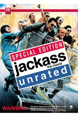 Jackass: The Movie DVD Cover Art