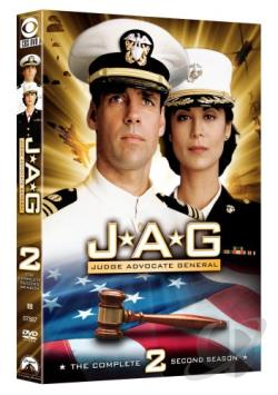 JAG - The Complete Second Season DVD Cover Art