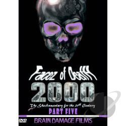 Facez of Death 2000, Part 5 DVD Cover Art