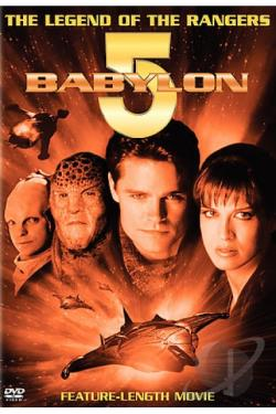Babylon 5: The Legend of the Rangers DVD Cover Art