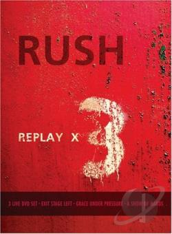 Rush - Replay DVD Cover Art
