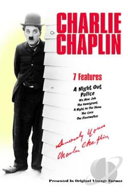 Charlie Chaplin - Volume 4 DVD Cover Art