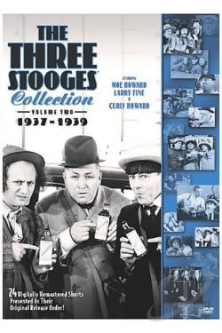Three Stooges Collection - Vol. 2: 1937 - 1939 DVD Cover Art