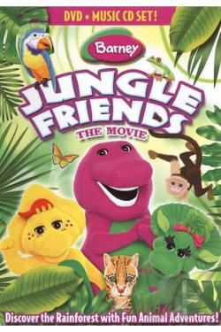 Barney: Jungle Friends DVD Cover Art