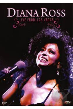 Diana Ross: Live from Las Vegas DVD Cover Art