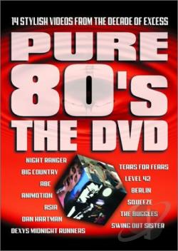 Pure 80's: The DVD DVD Cover Art