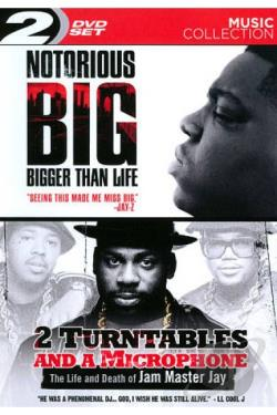 Notorious B.I.G.: Bigger Than Life/2 Turntables and a Microphone DVD Cover Art