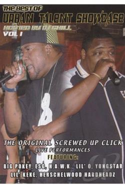Original Screwed Up Click: The Best Of Urban Talent Showcase, Vol. 1 DVD Cover Art