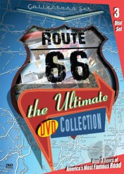 Route 66 - The Ultimate DVD Collection DVD Cover Art