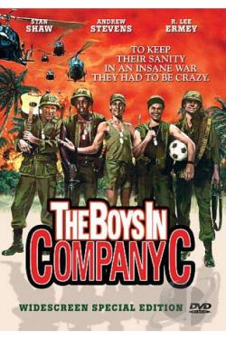 Boys in Company C DVD Cover Art