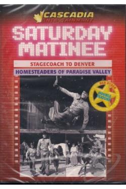 Stagecoach to Denver/Homesteaders of Paradise Valley DVD Cover Art