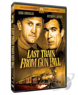 Last Train from Gun Hill DVD Cover Art