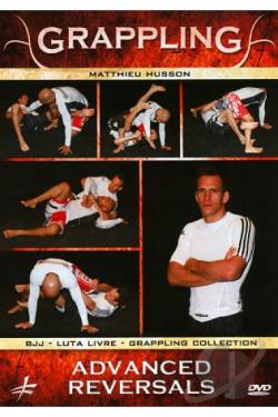 Grappling: Advanced Reversals DVD Cover Art