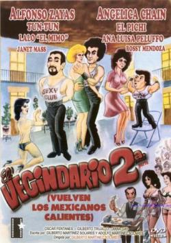 Vecindario 2 DVD Cover Art