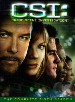 CSI: Crime Scene Investigation - The Complete Sixth Season DVD Cover Art