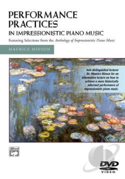 Performance Practices Impressionistic Music DVD Cover Art