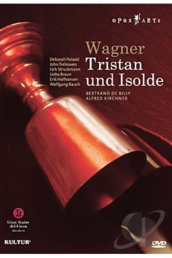 Wagner - Tristan und Isolde DVD Cover Art