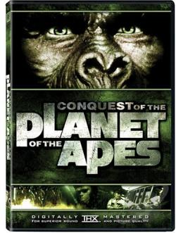 Conquest Of The Planet Of The Apes DVD Cover Art