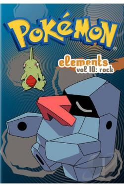 Pokemon Elements, Vol. 10: Rock DVD Cover Art
