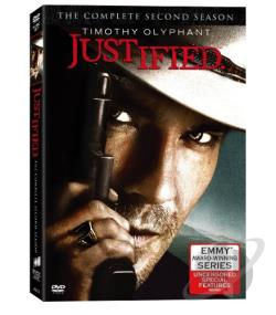 Justified - The Complete Second Season DVD Cover Art