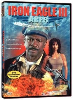 Iron Eagle 3: Aces DVD Cover Art