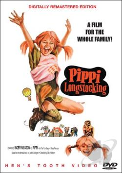 Pippi Longstocking DVD Cover Art