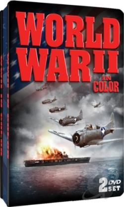 World War II in Color DVD Cover Art